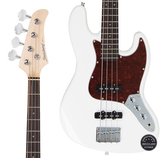 Contra Baixo Jazz Bass Strinberg Jbs40 Wh Regulagem Promoção
