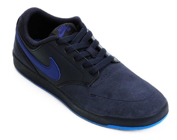 Tênis Nike Sb Fokus Azul Original + Nota Fiscal