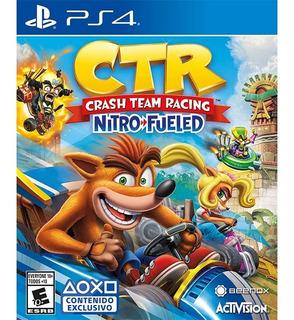 Crash Team Racing Nitro Fueled - Juego Físico Ps4 - Sniper