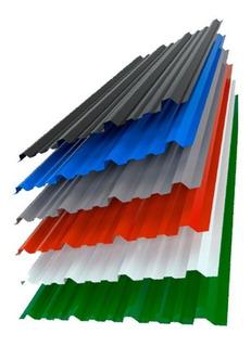 Chapa Trapezoidal Color X 50 Cm C25 Oferta!!