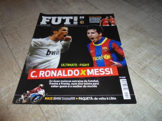 +m+ Revista Fut # 29 - Cr7 Real X Messi Barcelona -impecável