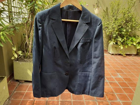 Saco De Traje Azul Talle 46