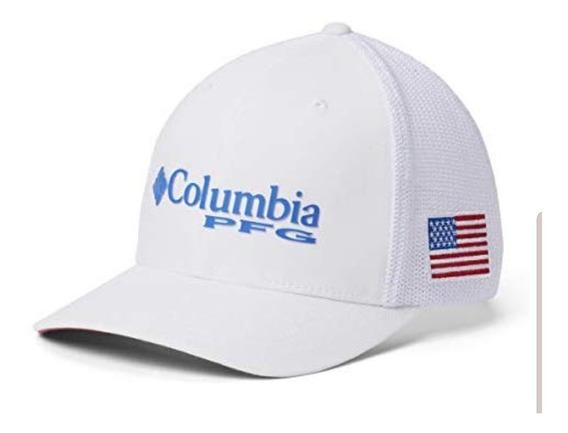 Cachucha Columbia Blanca Cerrada