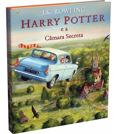 Harry Potter E A Câmara Secreta - Ilustrada Capa Dura