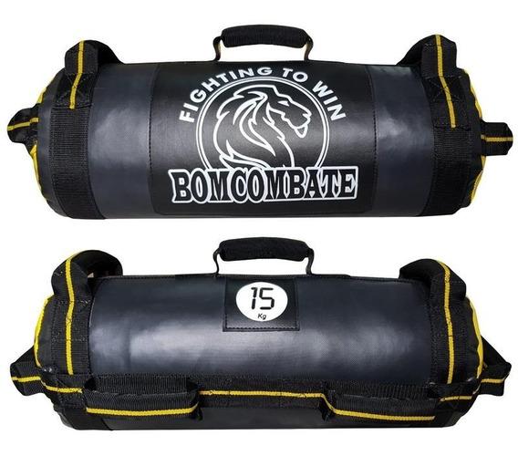 Power Bag 15kg Treinamento Funcional Crossfit Amarelo