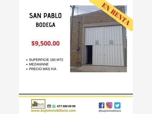 Bodega Industrial En Renta San Pablo