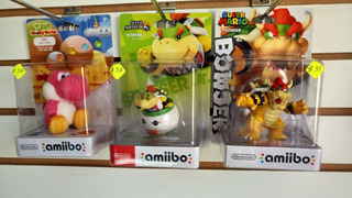 Amiibo, Bowser, Yoshis Americano
