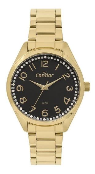 Relógio Condor Feminino Dourado Co2035mov4p
