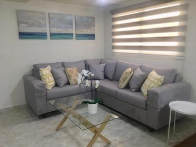 Se Renta Apartamento Amoblado De 80 M2. Naco - Santo Domingo