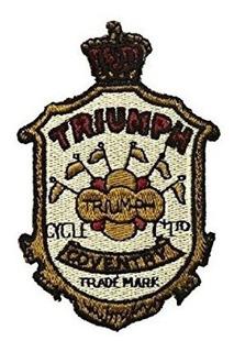 Patch Brasão Triumph Vintage