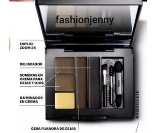 Sombras Par Cejas Perfectas Esika Pro Perfect Eyes Kit