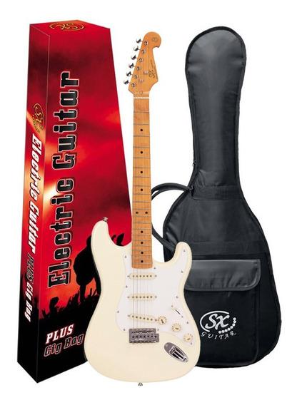 Guitarra Sx Sst57 Stratocaster Vintage Estilo Fender C/ Bag