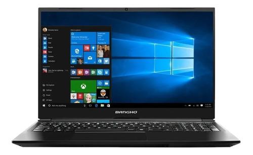 """Notebook Banghó MAX L5 i3 gris oscura 15.6"""", Intel Core i3 1005G1  8GB de RAM 240GB SSD, Intel UHD Graphics 1366x768px Windows 10 Home"""