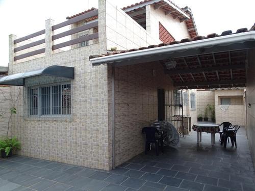 Casa Com 2 Dormitórios À Venda, 115 M² Por R$ 230.000 - Jardim Praia Grande - Mongaguá/sp - Ca0762