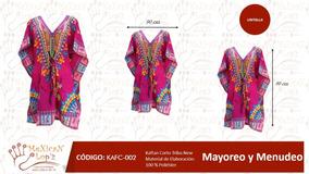 Captan Corto Indu Modelo Indio Elegante Varios Colores