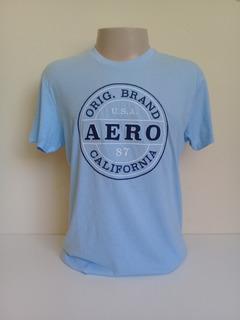 Camisetas Aerpostale Masculina Original- Kit C/ 2pçs