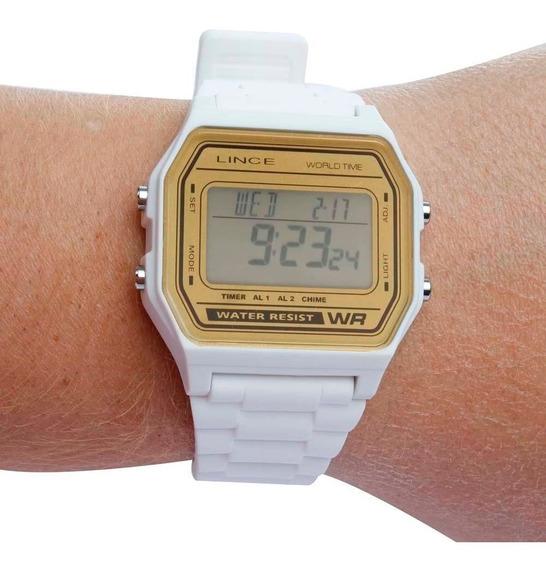 Relógio Femininio Digital Esportivo Lince Sdpe005-bxbx 100 M