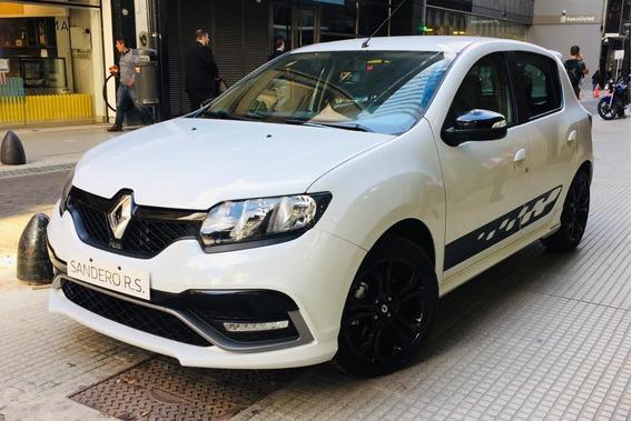 Renault Sandero Rs 2019 2.0 0km Nuevo Sport No Usado 2018
