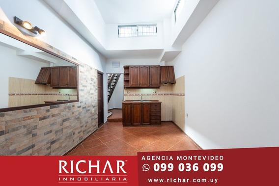 Casa Buceo Alquiler 2 Dormitorios Parrillero Sin Gastos