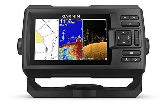 Gps Sonar Garmin Striker Plus 5cv Fishfinder C/ Transducer