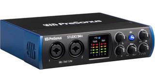 Interfaz De Audio Usb Presonus Studio 24c Interface Studio24