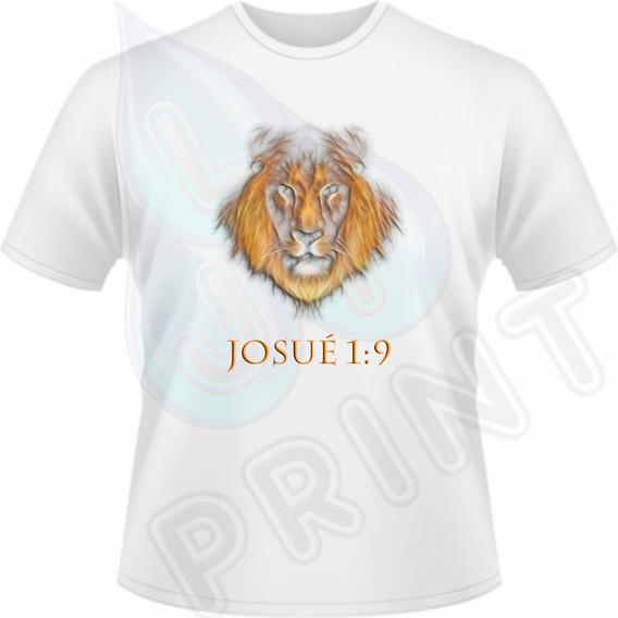 Camiseta Josué 1:9 - A4/a3 - Unisex