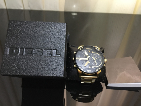 Relógio Diesel Banhado A Ouro