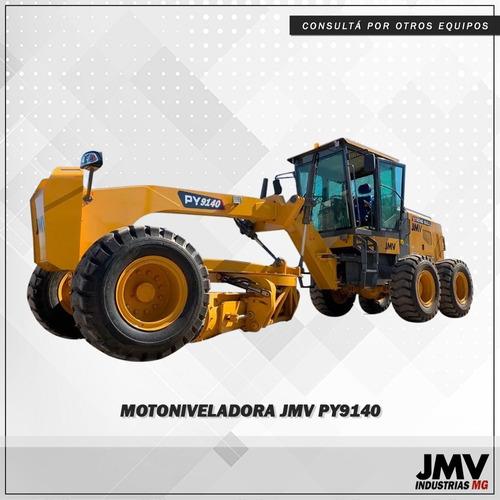 Imagen 1 de 11 de Motoniveladora Jmv Py9140 Motor Cummins 12ton El Mejor $