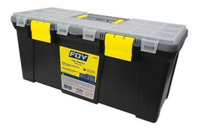 Caja Portaherramientas Plástica Organizadora 22 143202 Foy