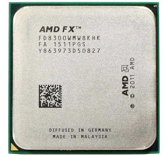 Processador Amd Am3+ Fx 8300 95w (semelhante Ao 8320e 8320)