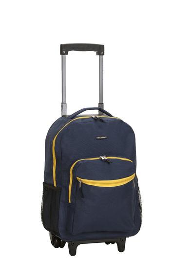 Mochila Rolling Rockland Luggage 17 Inch, Azul Marino, Ta