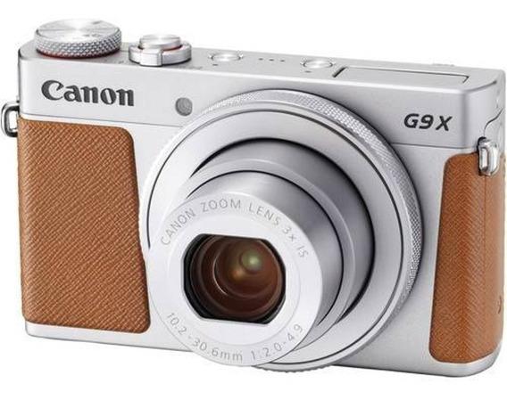 Câmera Profissional Digital Canon Powershot G9x Mk Ii Prata