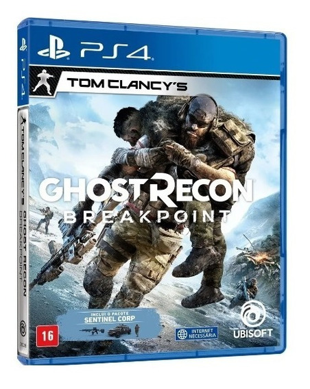 Ghost Recon Breakpoint Ps4 Mídia Física Novo Jogoplaystation