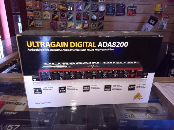 Conversor Behringer Ultragain Digital Ada8200