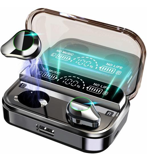 Audífonos Inalámbricos 210h Con Estuche Cargador 4000mah