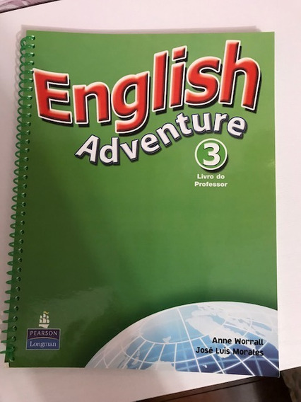 English Adventure 3 Livro Do Prof, Cds E Cd Rom
