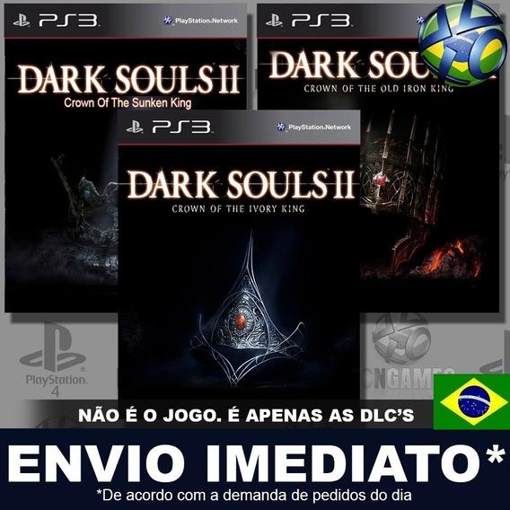 Dark Souls Ii 2 Combo 3 Dlcs Ps3 Psn Português Promoção