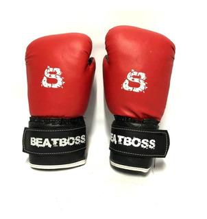 Guantes Box Niños Infantil Boxeo Kick Boxing Muay Thai