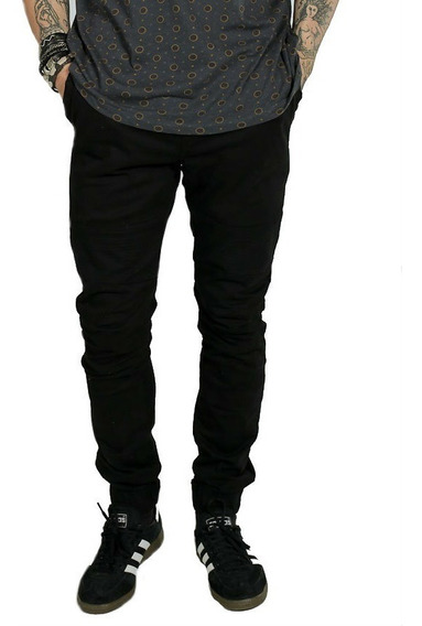 Calça Jeans Sarja Jogger Masculina Lycra Elastico Bj