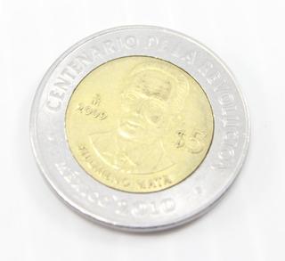 Filomeno Mata 5 Pesos Moneda Centenario Revolucion Mexico