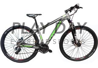 Bicicleta Mountain Fire Bird Rodado 29 Aluminio Shimano 21v
