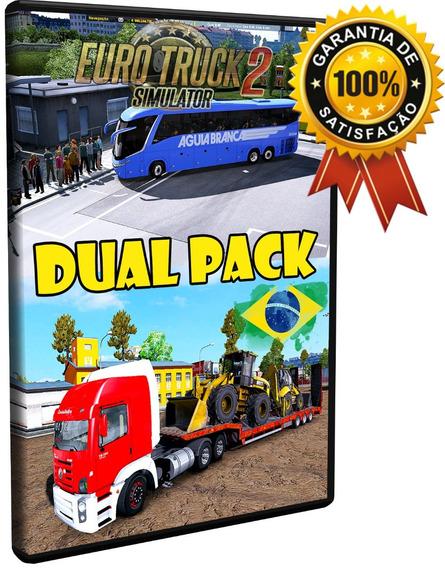 Euro Truck 2 Brasil Total 2018 C/ Patchs Ônibus E Caminhões