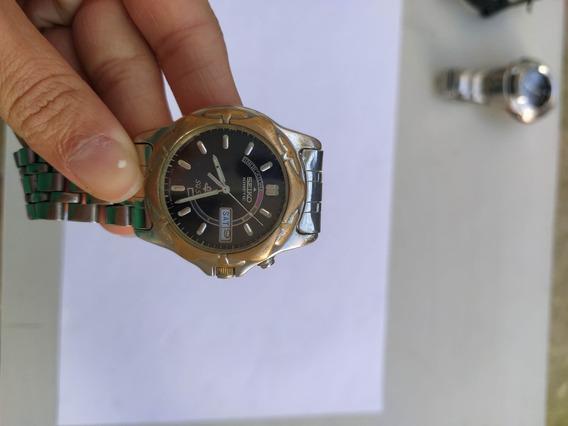 Relógio Seiko Kinetic Automático Sq50 (leia Discrição)