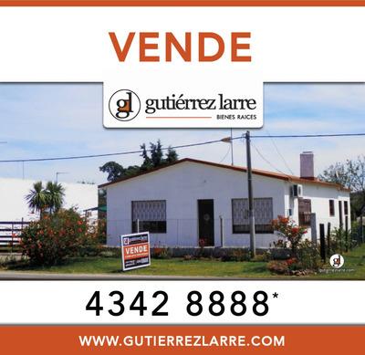 Completa Casa, Solidez, Estufa A Leña, Barbacoa, Garaje