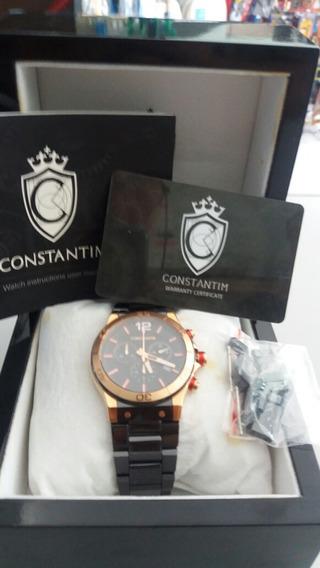 Relogio Constantin Race Rs Classic Rose