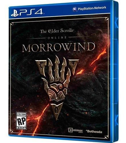 The Elder Scrolls Morrowind - Midia Fisica Lacrado - Ps4