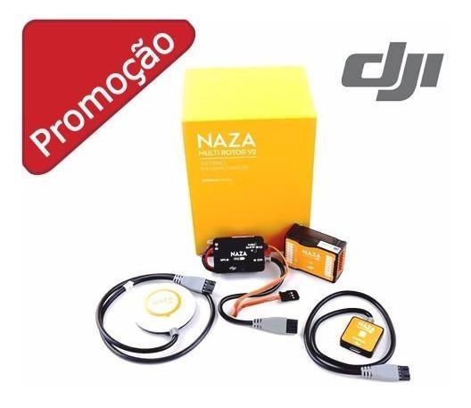 Placa Controladora Naza V2 Dji F450 F550 Drone + Gps