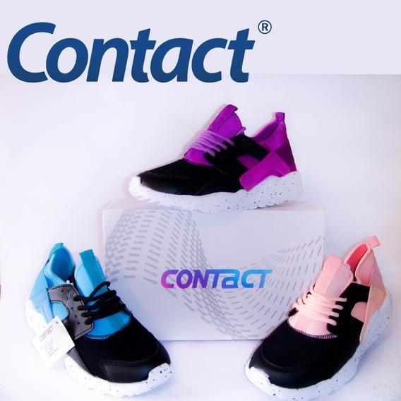 Zapatos Deportivos Contact Zapatos Deportivos Rosa en