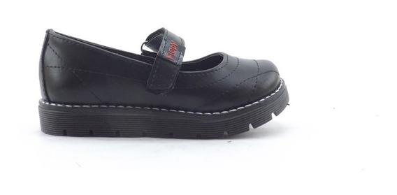 Zapatos Guillermina Colegial Escolar Abrojo Economicos 23-26