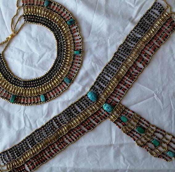 Colar E Cinto Cleópatra, Do Egito